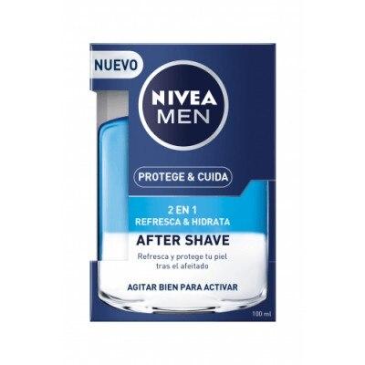 Nivea Locion After Shave Protege Y Cuida 2 En 1