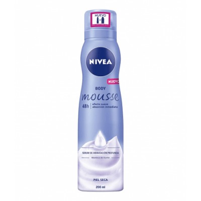Nivea Body Mousse Suave