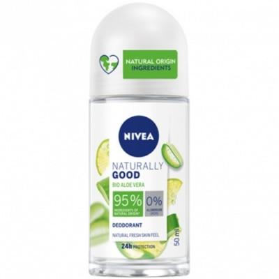 Nivea Nivea Desodorante Roll On Naturally Good Aloe Vera