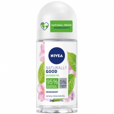 Nivea Nivea Desodorante Roll On Naturally Good Té Verde