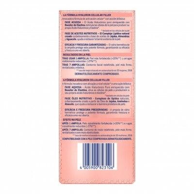 Nivea Nivea Hyaluron Cellular Filler Ampollas elasticidad & antigravedad 7 Unidades