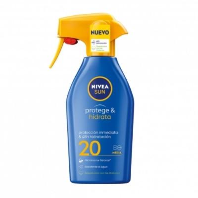 Nivea Nivea Sun FP 20 Protege & Hidrata Spray Solar Hidratante