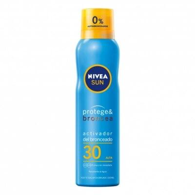 Nivea Nivea Sun FP 30 Protege & Broncea Aceite en Bruma