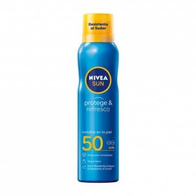Nivea Nivea Sun FP 50 Protege & Refresca Spray Bruma Solar Invisible
