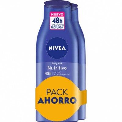 Nivea Pack Nivea Body Milk Azul Nutritiva