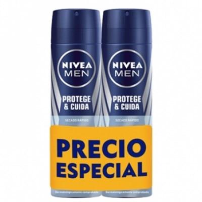 Nivea Protege y Cuida Desodorante Spray Duplo