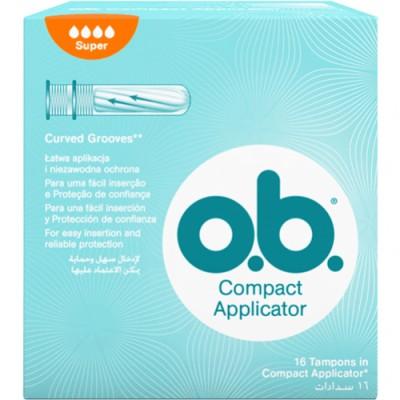 Ob OB Tampon Aplicador Super