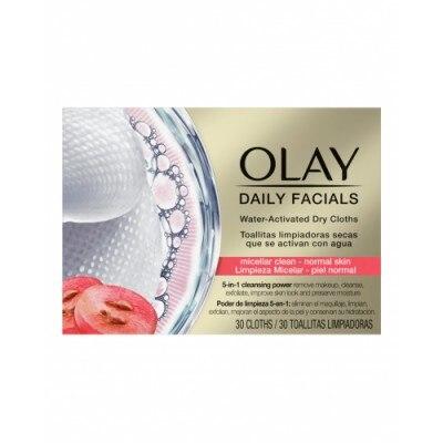 Olay Toallitas Limpiadoras Secas Para Piel Normal Daily facials Olay