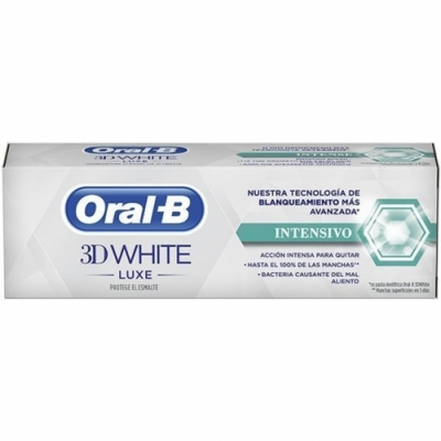 Oral-b Pasta Oral B 3D White Luxe Blanqueamiento Intensivo