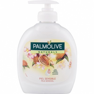 Palmolive Jabón De Manos Dosificador Leche De Almendra