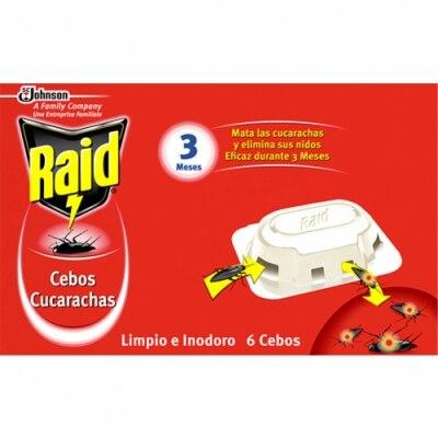 Raid Insecticida Cebos Cucas