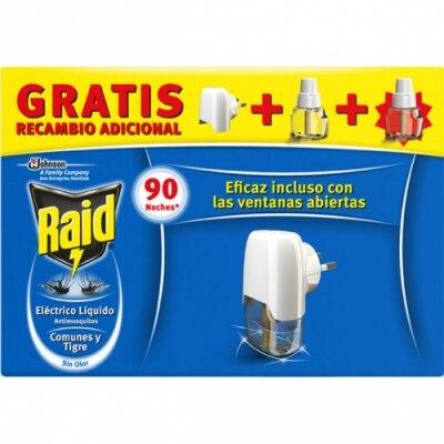 Raid Raid Insecticida Volador Eléctrico Líquido