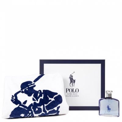 Ralph Lauren Estuche Polo Ultra Blue Eau De Parfum y Toalla