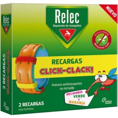 Relec Relec 2 Recargas Pulsera Niños