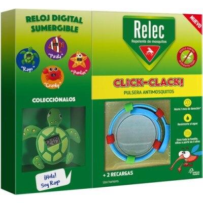 Relec Relec Pulsera Click Clack Tortuga