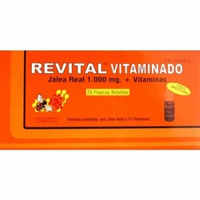 Revital Ampollas Revital Jalea Real