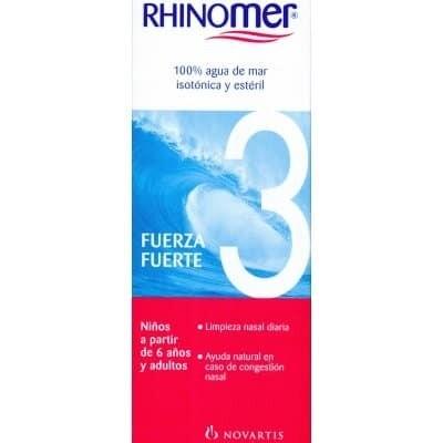 Rhinomer Rhinomer limpieza nasal fuerza 3