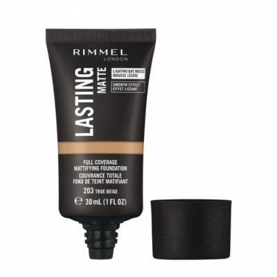Rimmel Rimmel Lasting Matte Foundation Base Maquillaje