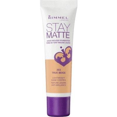 Rimmel Stay matte mousse foundation