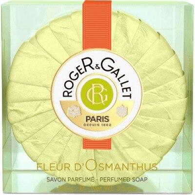 Roger Gallet Fleur d osmanthus jabon de pastilla viaje