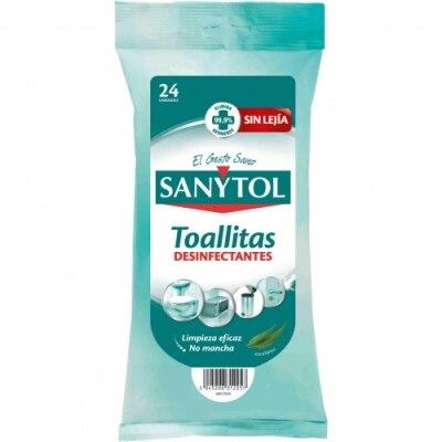 Sanytol Sanytol Limpiador Desinfectante 24 Toallitas
