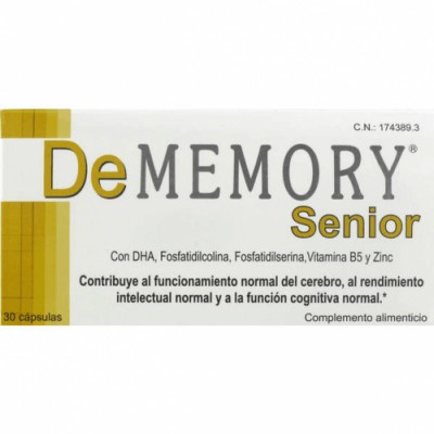 Scholl Cápsulas Dememory Senior