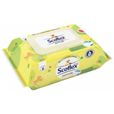 Scottex Toallitas Scottex Húmedas Junior