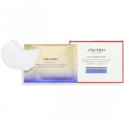 Shiseido Vital Perfection Uplifting and Firming Mascarilla Contorno de Ojos Express