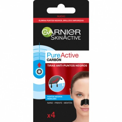 Garnier Pure Active Carbon Tiras Anti Puntos Negros