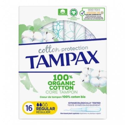Tampax Tampon Tampax Naturals Regular 16