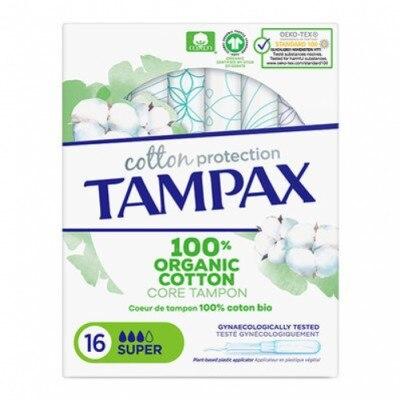 Tampax Tampon Tampax Naturals Super 16