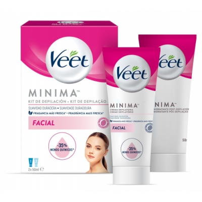Veet Veet Kit Crema Depilatoria Facial