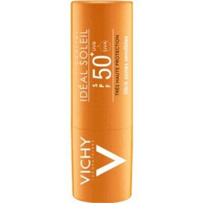 Vichy Vichy ideal soleil stick zonas sensibles spf50