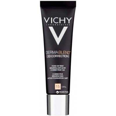 Vichy Dermablend Corrección 3D Fondo de Maquillaje Fluido Alisador y Corrector