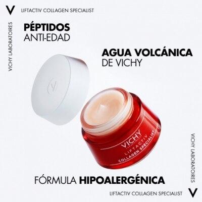 Vichy Liftactiv Specialist Crema Día Collagen Specialist Antiarrugas Antiedad