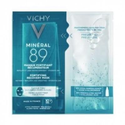 Vichy Minéral 89 Mascarilla Fortificante & Reconstituyente con Ácido Hialurónico