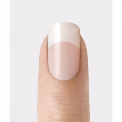 Kiss Uñas Francesas Salon Acrylic Nude Nails - Cashmere