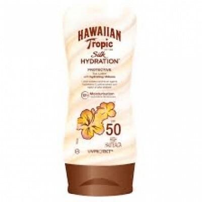 Hawaiian Tropic Bronceador Silk Hydratation SPF50