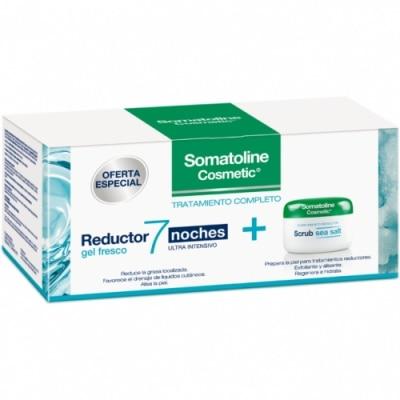 Somatoline Tratamiento Completo Reductor 7 Noches Gel y Exfoliante Scrub Sea Salt