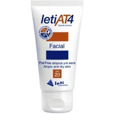 Leti Crema protección facial spf-20 pieles atópicas