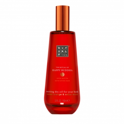 Rituals RITUALS The Ritual of Happy Buddha Dry Oil - aceite seco para cuerpo y cabello
