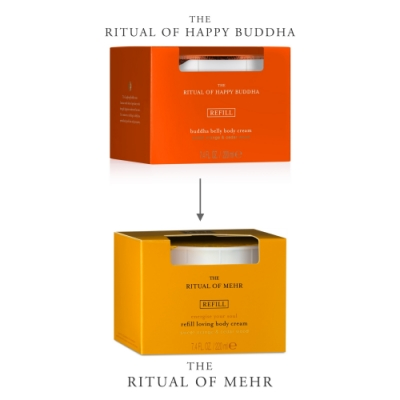 Rituals RITUALS The Ritual of Mehr Body Cream Refill Recarga de Crema Corporal