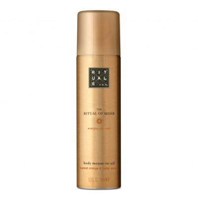 Rituals RITUALS The Ritual of Mehr Body Mousse to Oil Mousse Aceite Corporal
