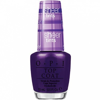 OPI Oli Purple Top Coat