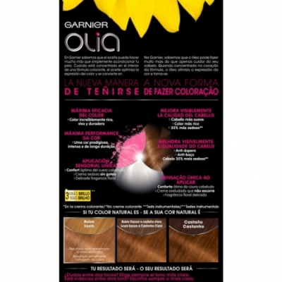 Olia Tinte Capilar 7.3 Golden