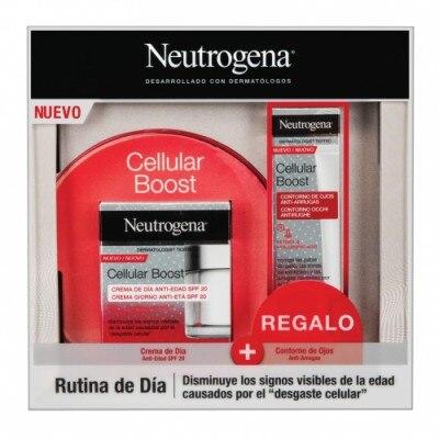 Neutrogena Neutrogena Estuche Cellular Boost Crema Día y Contorno Ojos