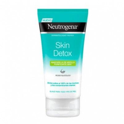 Neutrogena Neutrogena Skin Detox Mascarilla de Arcilla Purificante 2 en 1