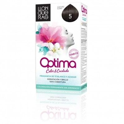 Optima Tinte Capilar 5.0 Castaño Claro