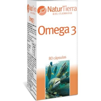 Naturtierra Comprimidos omega 3 80 unidades
