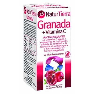 Naturtierra Cápsulas Naturtierra Granada Antioxidante